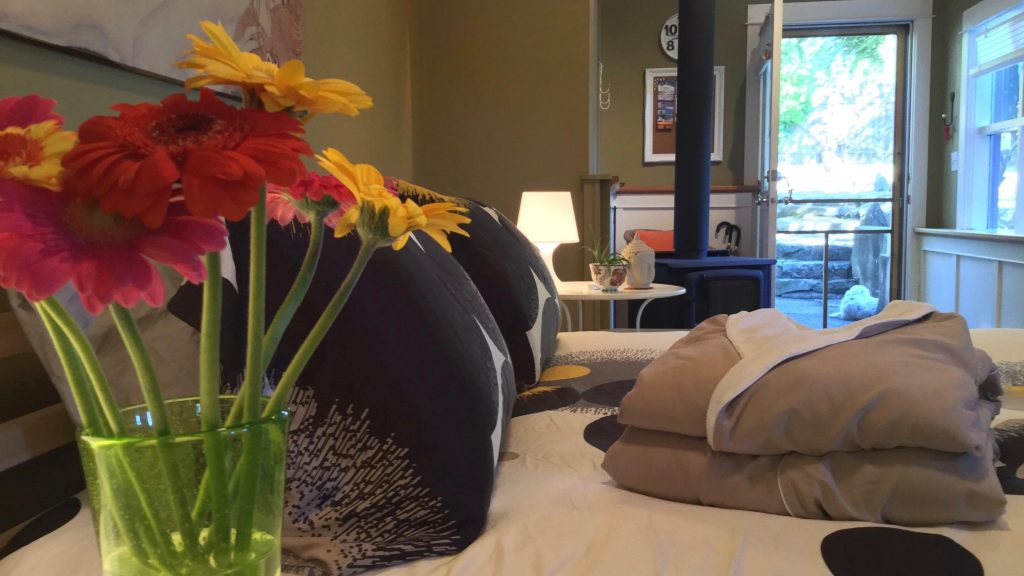 Saltspring Island Ganges Garden Oasis Guesthouse | Fitness Vacations with Deb Leblanc DEBFIT®
