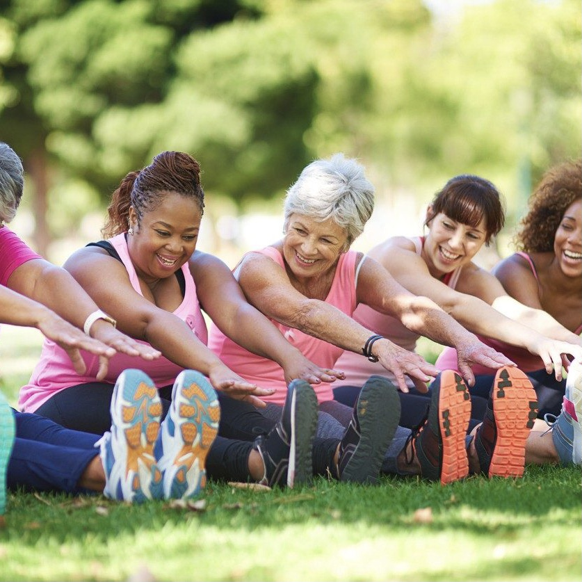 50 PLUS Fitness Halifax, Outdoor Fitness Class in the Park with Certified Senior Fitness Specialist, 25-year Personal Trainer Deb Leblanc