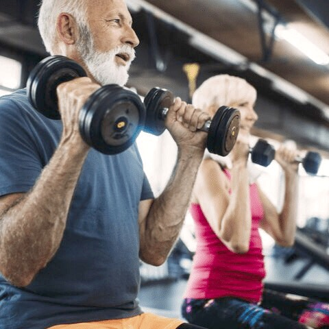FREE Seniors Live Online Gentle Chair Strength & Stretch Class with Certified Senior Fitness Specialist, 25-year Personal Trainer Deb Leblanc