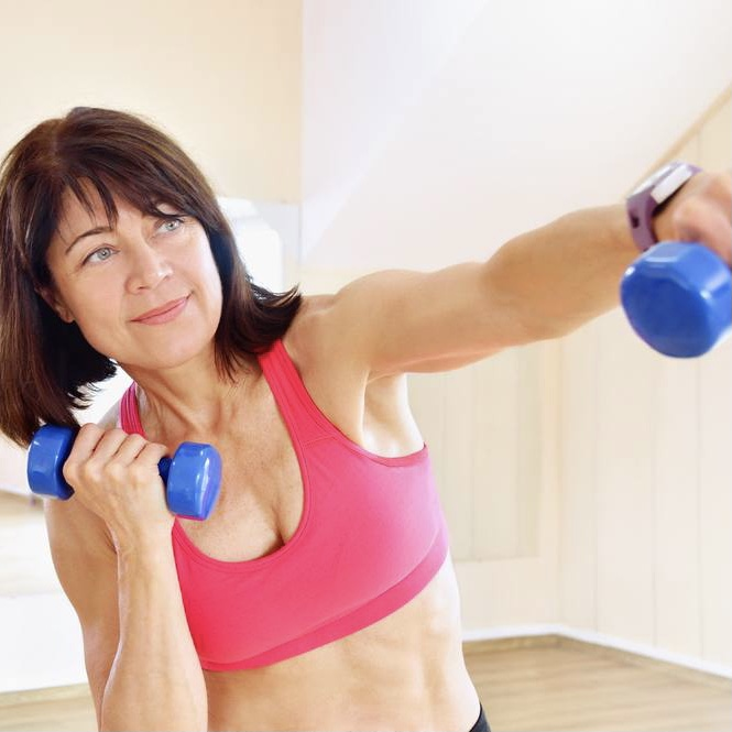 Halifax Online Upper Body Strength Classes for women over the age of 50, with Certified Senior Fitness Specialist Deb Leblanc | debfit Strengthen and tone your entire upper body. Modifications provided for all fitness levels.